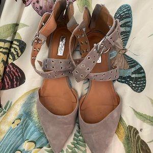 Halogen Pointy Toe Flats / Size 12